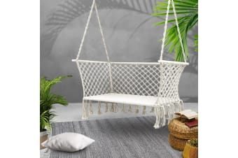 Gardeon Camping Hammock Chair Patio 2 Person Swing Double Portable Rope