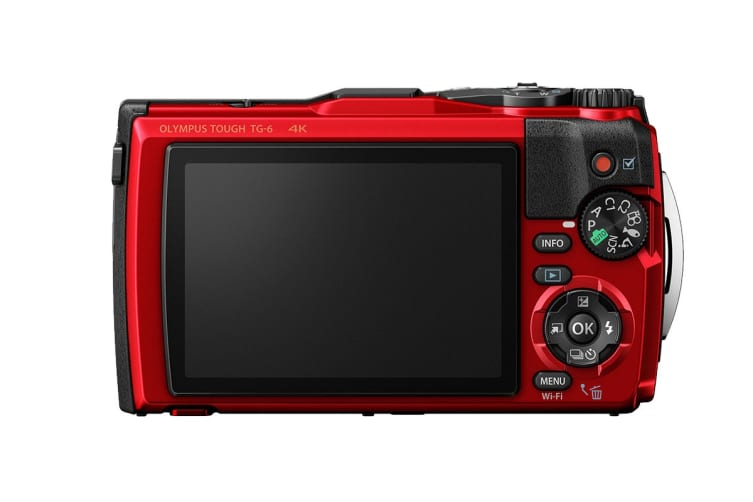 Olympus TG-6 Tough Digital Camera - Red