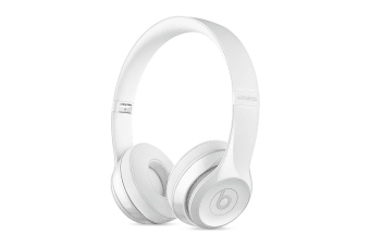 Beats Solo3 Wireless Headphones (Gloss White)