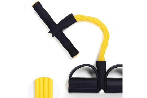 Exercise Band Rubber Gym Strength Trainer Chest Expander Pedal Pull Rope