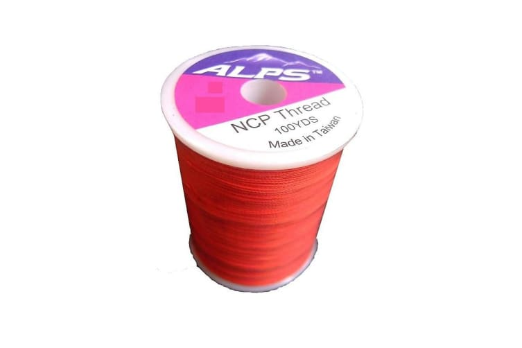 Alps 100yds of Brown/Orange Rod Wrapping Thread - Size A (0.15mm) Rod Binding Cotton