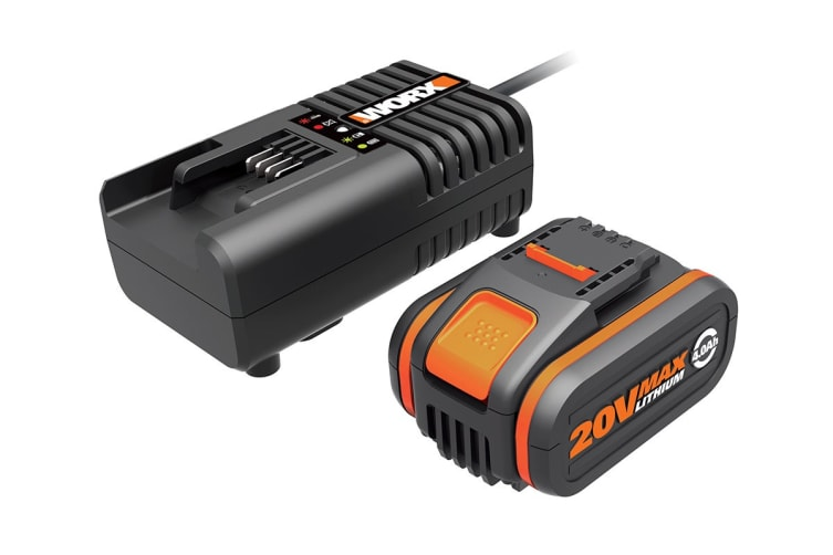 WORX Powershare 20V 4.0Ah MAX Lithium-ion Battery & Charger Kit (WA3604)