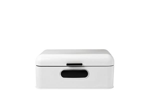 D.Line Bread Bin with Window White 42x23x17cm