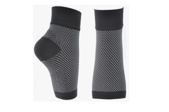 1 Pair Plantar Fasciitis Compression Socks For Arch Support M