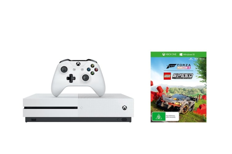 Xbox One S Console 1TB with Forza Horizon 4 + LEGO Speed Champions DLC