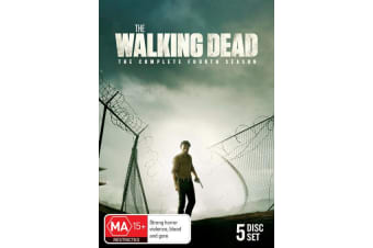 The Walking Dead The Complete Fourth Season 4 Box Set DVD Region 4
