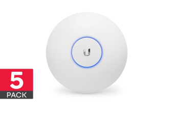 5-Pack Ubiquiti UniFi AP AC Long Range Access Point (UAP-AC-LR-5)