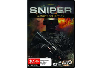 Sniper 6 Movie Collection Box Set DVD Region 4