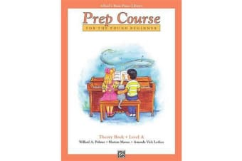 Alfred's Basic Piano Prep Course Theory, Bk a - For the Young Beginner