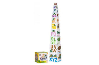 Officially Licensed Very Hungry Caterpillar Building Blocks