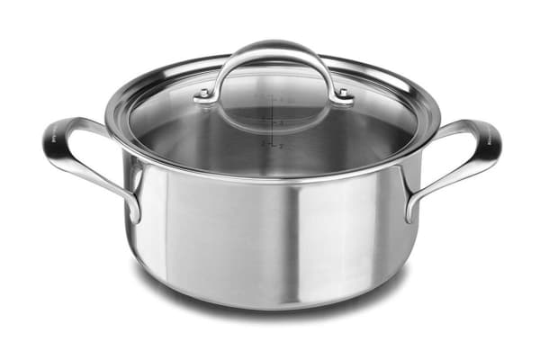 KitchenAid Copper 5.7L Low Casserole with Lid (KC2C60LCST)