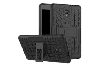Samsung Galaxy Tab Case Cover SMART Ultra Slim Stand Cover for Tab A 8.0 2017 T380/T385-Heavy Duty Black