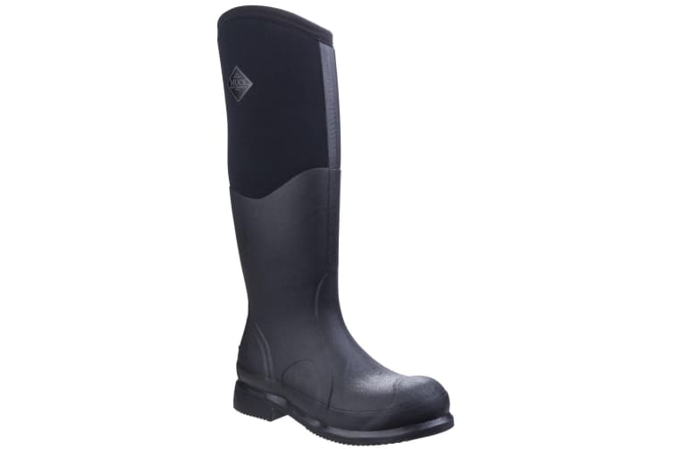 Muck Boots Unisex Colt Ryder All Conditions Riding Boots (Black/Black) (12 UK)