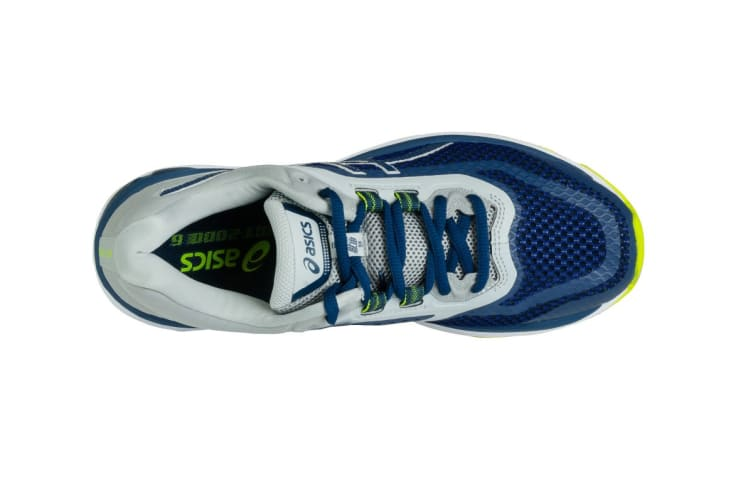 ASICS Men's GT-2000 6 Running Shoe (Dark Blue/Mid Grey, Size 8.5)