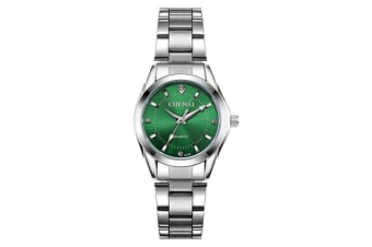 Women's Quartz Watch Stainless Steel  Wrist Watches Green