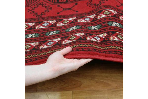 Traditional Red and Black Rug 230x160cm