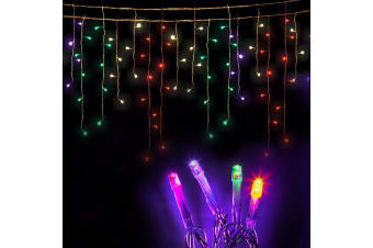 Jingle Jollys 500 LED Solar Powered Christmas Lights 20M Outdoor String Party