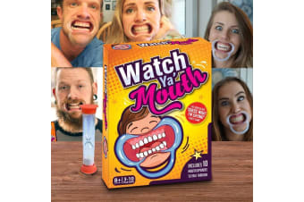 Watch Ya Mouth: The Outrageously Funny Mouth Guard Party Game