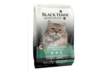 Black Hawk Seafood And Rice Feline - 3kg