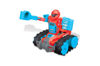 Maisto Tech R/C Tank Transforming Robo Fighters Remote Control Kids Toy 5y+ Red