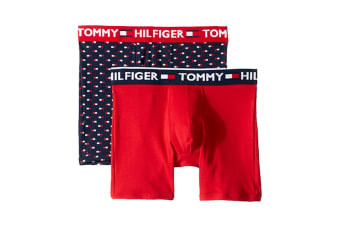Tommy Hilfiger Men's Boxers - 2 Pack (Night Blue, Size XXL)