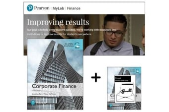 Value Pack Corporate Finance Global Edition + MyFinanceLab with eText