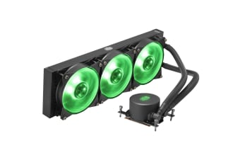 Cooler Master MasterLiquid ML360 RGB (TR4) All in One Watercooling with 3 X  RGB 120MM  fan -  MAX