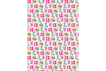 Simon Elvin 24 Sheets Designer Female Gift Wraps (White/Purple)