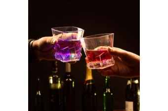 Liquid-Activated Flashing & Colour-Changing  Spirit Glasses 2-Pack