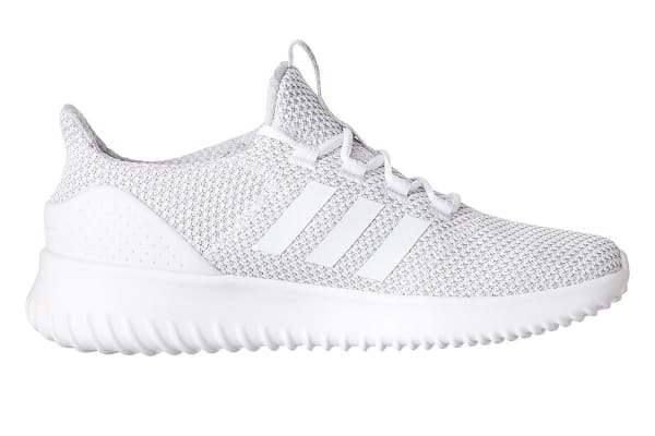 low priced 843ba 5cf15 ... get adidas neo mens cloudfoam ultimate shoe white grey b916d c6c01