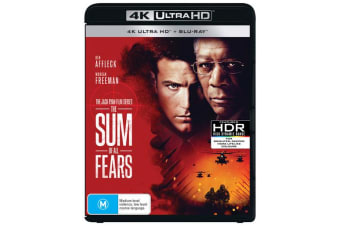 The Sum of All Fears 4K with Blu-ray UHD Region B