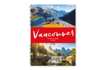 Vancouver & the Canadian Rockies Marco Polo Travel Guide - with pull out map