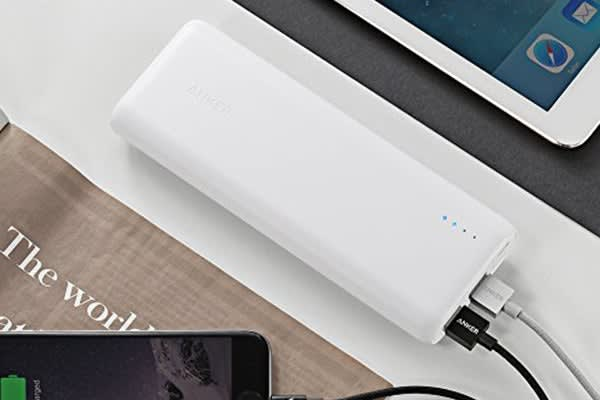 Anker PowerCore 15600mAh Power Bank A1215H21 (White)