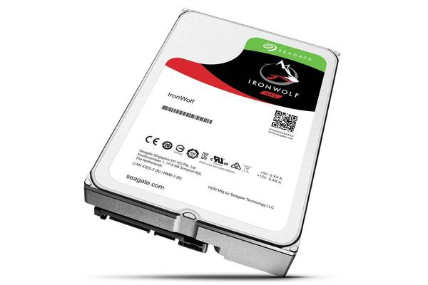 Seagate 6TB IronWolf NAS 3.5' 5900 RPM 128MB Cache SATA 6.0Gb/s 3.5' HDD (ST6000VN0041)