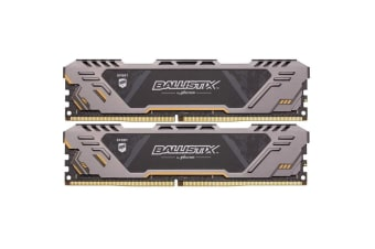 Crucial Ballistix Sport AT ASUS TUF Edition 16GB Kit (8GBx2) DDR4 3200 MT/s (PC4-25600) CL16 SR x8