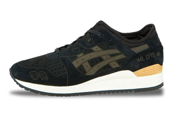 ASICS Tiger Men's Gel-Lyte III LC Running Shoe (Black/Black, Size 10)