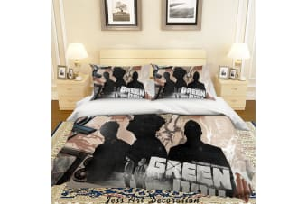 3D Rock Band Green Day Quilt Cover Set Bedding Set Pillowcases 53