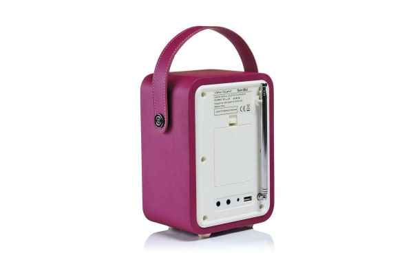 View Quest Retro Mini DAB+ Radio & Speaker - Deep Purple (MINI-DP)
