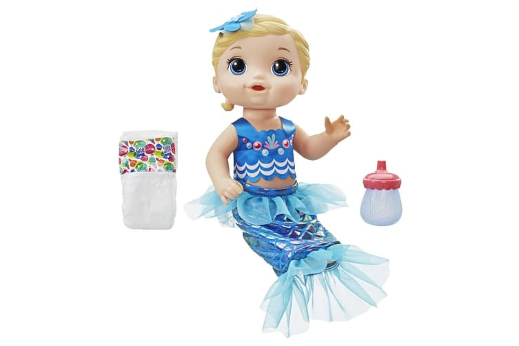 Baby Alive Shimmer 'n Splash Mermaid Baby