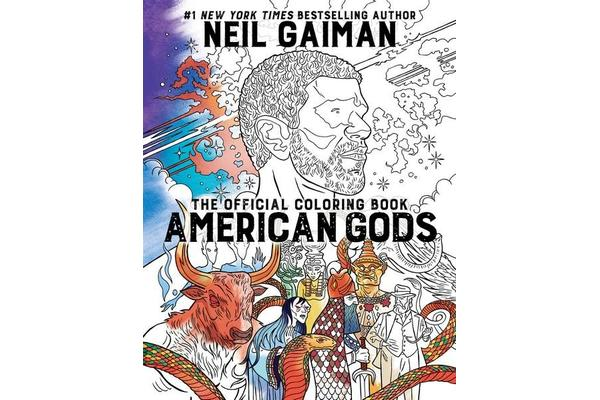 American Gods - The Official Coloring Book