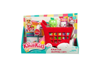 Shopkins Kindi Kids Fun Shopping Cart
