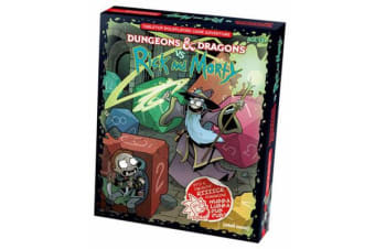 Dungeons & Dragons Vs Rick and Morty - D&d Tabletop Roleplaying Game Adventure Boxed Set