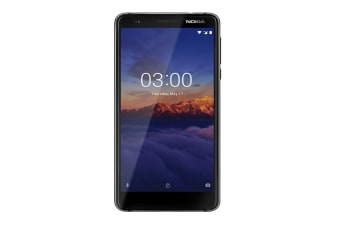 Nokia 3.1 (32GB, Black/Chrome)