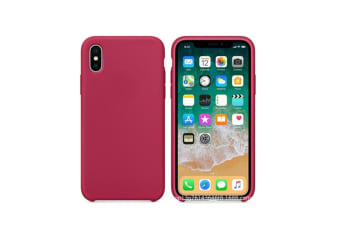 Silicone Gel Rubber Shockproof Protective Case Cover For Iphone Rose Red 6Plus 6Splus(5.5)