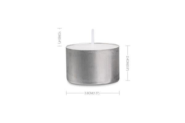 100pcs Tea Light Candles Bulk 9 Hour