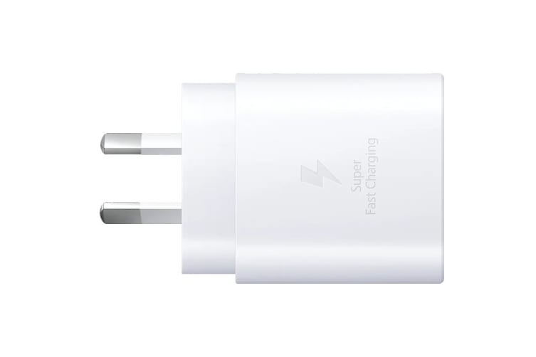 Samsung USB Fast Charging Type-C To C Travel Adapter (25W, White)