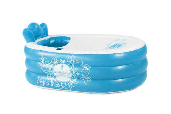 MamboBaby Inflatable Bath Tub - Blue