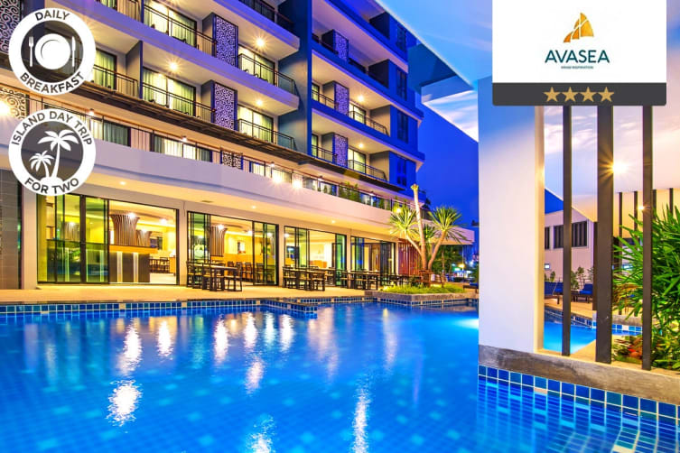 THAILAND: 5 Nights at Avasea Resort Krabi for Two (Peak Season Deluxe Ocean View)