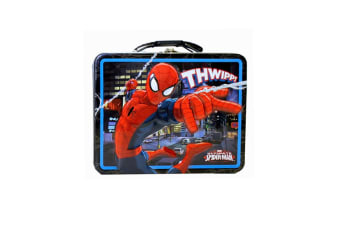 """Spiderman """"THWIPP!"""" Large Carry All Tin"""