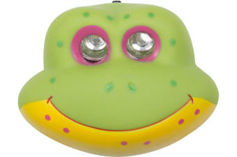 CHILDRENS KIDS CAMPING LED HEADLIGHT HEADLAMP HEAD LIGHT LAMP TORCH FROG 533023